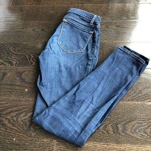 J Brand # 901 mid leggings stretchy jeans sz 27